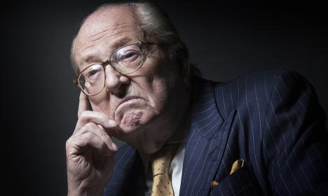 France's Jean-Marie Le Pen endorses Trump
