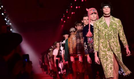 Renzi struts his stuff at Milan fashion week opener