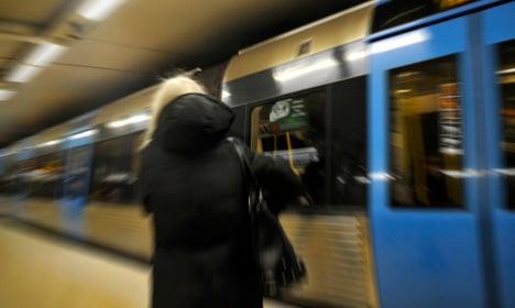 Man jailed over Stockholm subway attack on mum