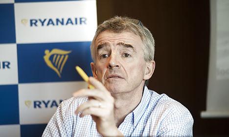 Ryanair boss: Bad Danish press sells seats