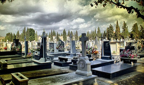 Couple arrested in Spain over graveyard 'voodoo' love ritual
