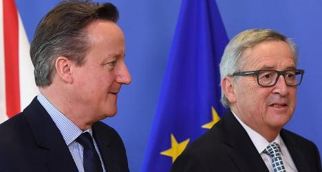 EU 'freezes' Swiss talks until Brexit outcome