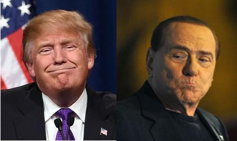 Six ways Donald Trump is eerily similar to Berlusconi