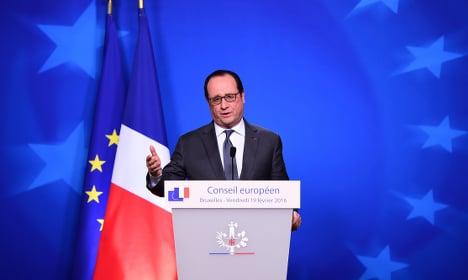 'No exceptions' in British EU deal: France's Hollande
