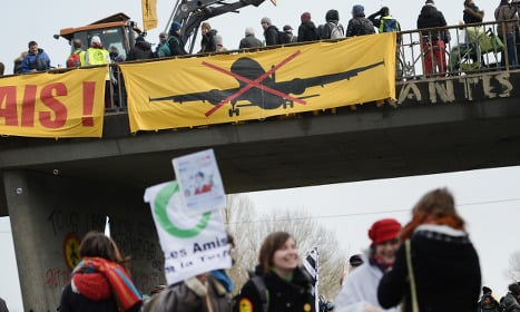 Fresh rally against French airport plans