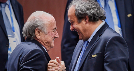 Blatter and Platini have bans reduced on appeal