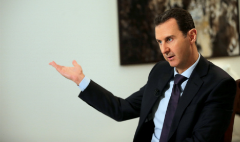 Assad wants to be known as the 'man who saved Syria'