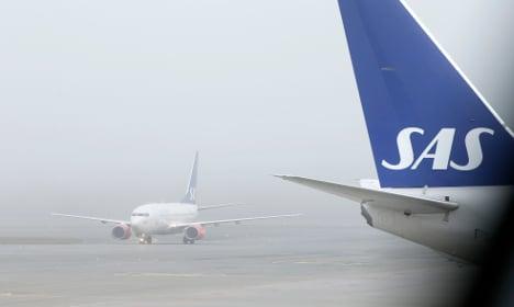 Swedish SAS staff strike keeps flights grounded