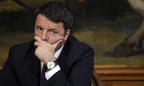 Italy clouds mar Renzi's second anniversary