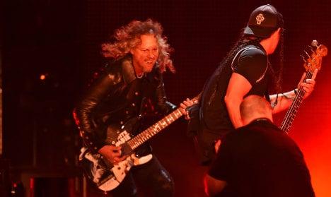 Metallica to release Bataclan live album for attack victims