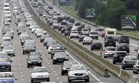 France's roads and rails set for weekend of traffic mayhem