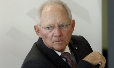 Germany against G20 fiscal stimulus package: Schaeuble