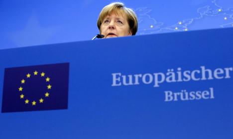 'It is a fair deal': Merkel defends EU-British accord