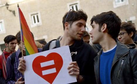 Italy's Senate approves gay unions bill