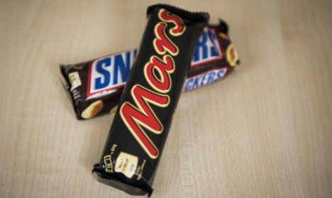 Mars, Snickers and Milky Way bars recalled across Spain