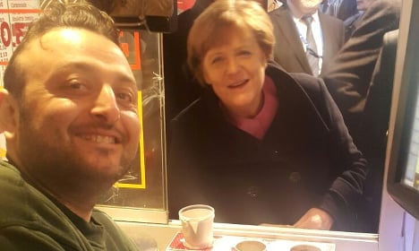 Merkel pops out for chips as Brexit summit drags