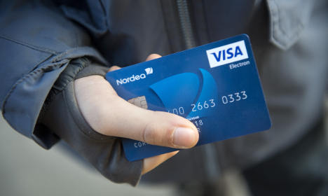 Swedes among world's biggest card users
