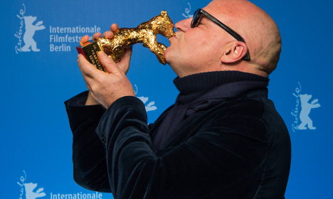 Italian Rosi wins Berlin film festival Golden Bear