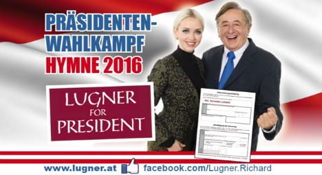 Austrian Presidential candidate releases rap video