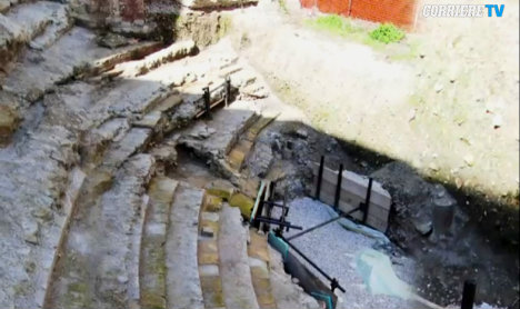Italian town 'forgets' Roman theatre found under ex-factory
