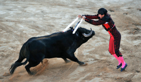 Thousands march in Spain to support bullfighting tradition