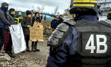 No Borders: Are extremists really causing a rumble in the Calais 'Jungle'