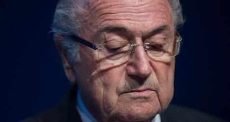 French seize Blatter documents in Paris raid