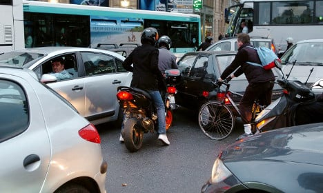 And the worst city in France for traffic jams is?