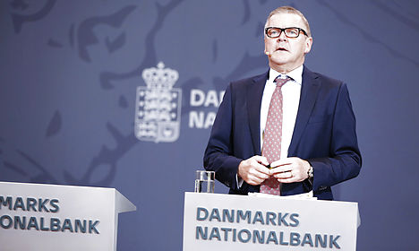 Danish central bank says speculators boosted profit