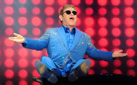 Elton John to rock Pompeii's Roman amphitheatre