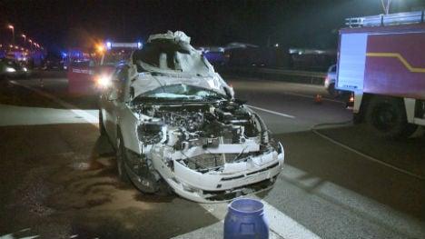 Drunk man dies trying to cross Autobahn on foot
