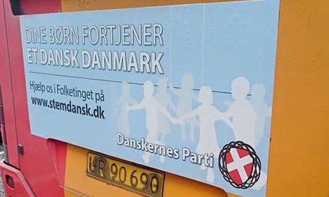 Danish bus company slammed for nationalists' ads