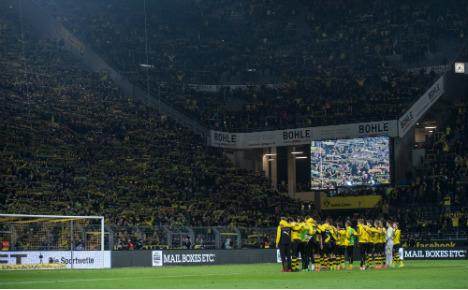 'It was unspeakably beautiful': Dortmund tribute to dead fan