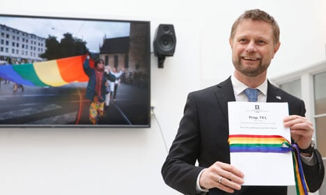Norway preps 'breakthrough' on gender change
