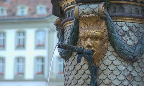 Dream come true? Wine flows from Bern fountain