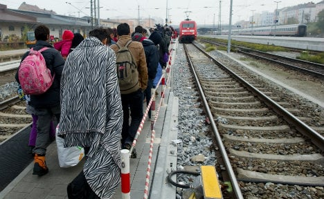 Only 600,000 refugees stayed in Germany in 2015