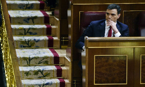Socialists blocked in bid to form new government