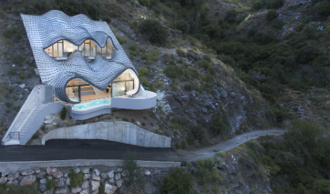 Welcome to Spain's quirkiest clifftop house