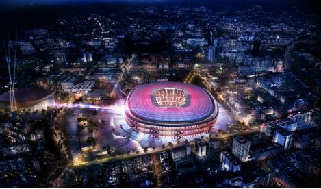 Turning Japanese: Barcelona looks east for stadium revamp