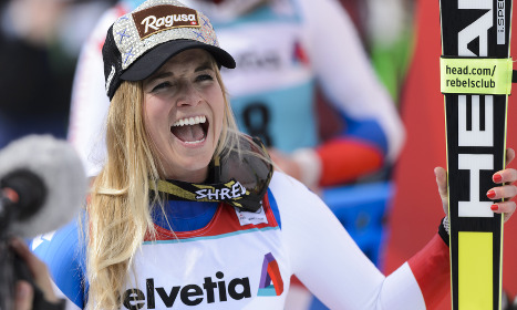Switzerland's Lara Gut wins women's World Cup title