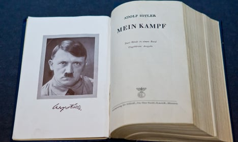 Hitler's copy of 'Mein Kampf' sells for $20,655