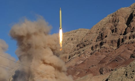 Sanctions possible over Iran missile launches: France