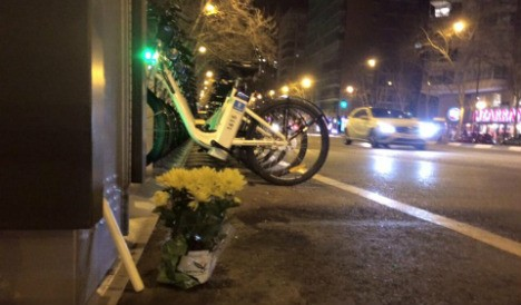 24-year-old woman arrested over Madrid cyclist hit and run