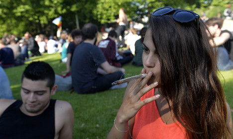 France has highest (number of) teen cannabis smokers