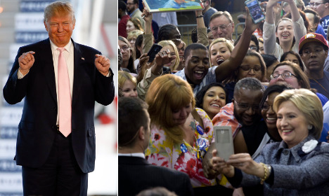 Swedish politicians back Clinton and shun Trump