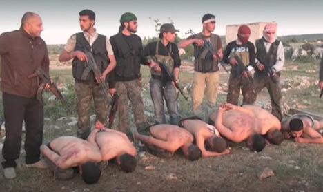 Syrian man arrested in Sweden for war crimes