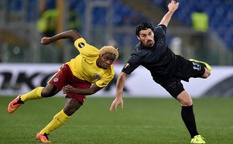Lazio facing racism probe over monkey chants