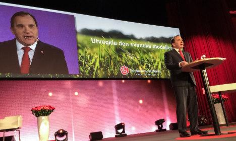 'We must defend Swedish model': Löfven