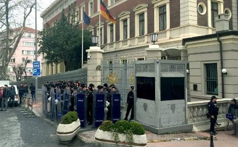 Germany closes Ankara embassy 'due to terror threat'