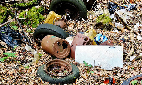 Green Party councillor fined for not clearing up rubbish